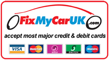 We accept most major credit and debit cards