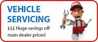 Servicing - Huge savings on main dealer prices